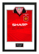 FOOTBALL SHIRT FRAMING WITH PLAQUE
