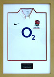 RUGBY SHIRT FRAMING WITH PLAQUE